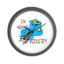 Rocket Cafe Wall Clock