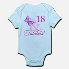 Fabulous 18th Birthday For Girls Infant Bodysuit
