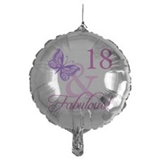 Fabulous 18th Birthday For Girls Balloon