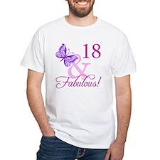 Fabulous 18th Birthday For Girls Shirt