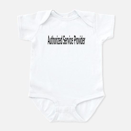 Authorized Service Provider Infant Bodysuit