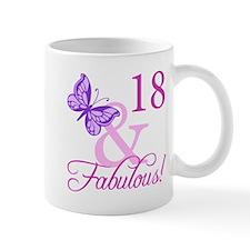 Fabulous 18th Birthday For Girls Mug