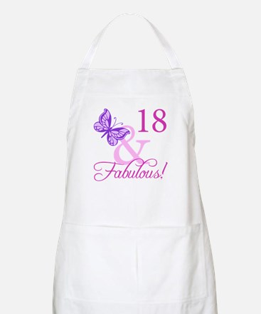 Fabulous 18th Birthday For Girls Apron