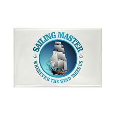 Sailing Master Rectangle Magnet