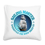 Sailing Master Square Canvas Pillow