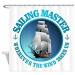 Sailing Master Shower Curtain