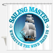 Sailing Master Shower Curtain