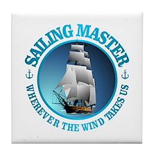 Sailing Master Tile Coaster
