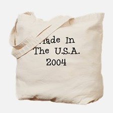 Made in the usa 2004 Tote Bag