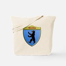 Berlin Germany Metallic Shield Tote Bag