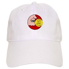 Hockey Face Baseball Cap