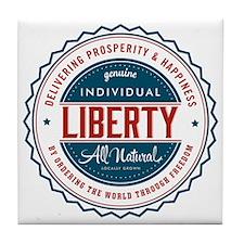 Individual Liberty Tile Coaster