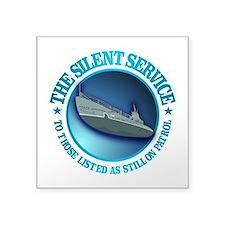 Silent Service Sticker