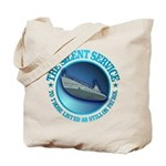 Silent Service Tote Bag