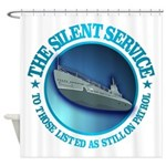 Silent Service Shower Curtain