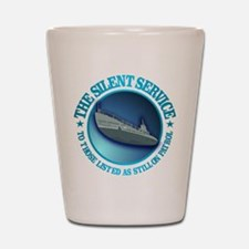 Silent Service Shot Glass