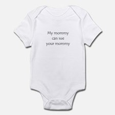 My mommy can sue your mommy Onesie