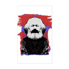 Marx Rectangle Decal