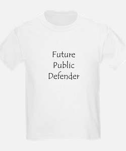 Future Public Defender Kids T-Shirt