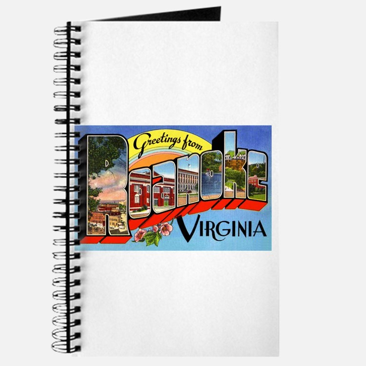 Roanoke Virginia Greetings Journal