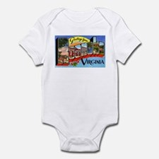 Roanoke Virginia Greetings Infant Bodysuit
