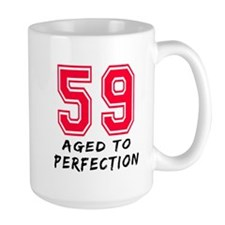 59 Year birthday designs Mug