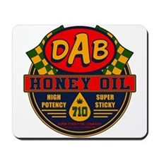 DAB Honey Oil 710 Mousepad