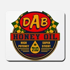 DAB Honey Oil 710 Mousepad