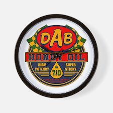 DAB Honey Oil 710 Wall Clock
