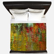 Water Reflection King Duvet