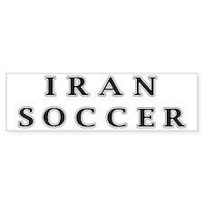 Iran Soccer Bumper Bumper Sticker