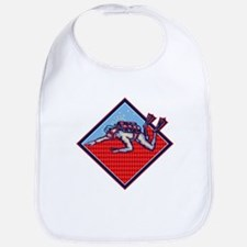 Scuba Diver Diving Retro Bib