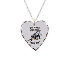 US Navy - SeaBees - Can Do Necklace