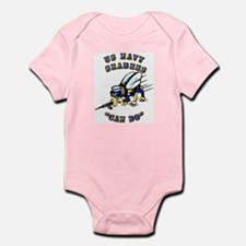 US Navy - SeaBees - Can Do Infant Bodysuit