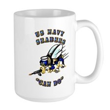 US Navy - SeaBees - Can Do Mug
