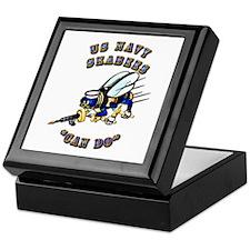 US Navy - SeaBees - Can Do Keepsake Box