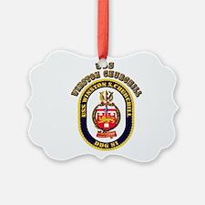 USS Winston Churchill - Crest Ornament