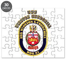 USS Winston Churchill - Crest Puzzle