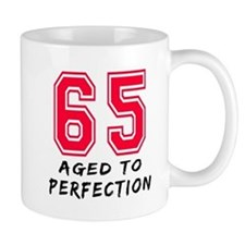 65 Year birthday designs Mug