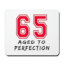 65 Year birthday designs Mousepad