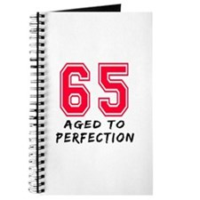 65 Year birthday designs Journal