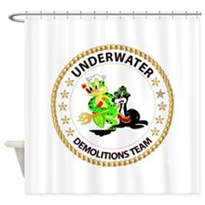 SOF - Underwater Demolitions Team Shower Curtain