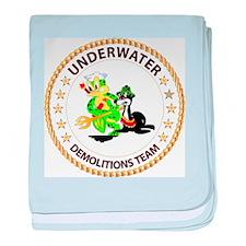 SOF - Underwater Demolitions Team baby blanket