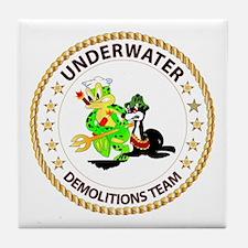 SOF - Underwater Demolitions Team Tile Coaster