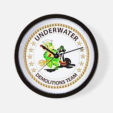 SOF - Underwater Demolitions Team Wall Clock