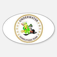 SOF - Underwater Demolitions Team Sticker (Oval)