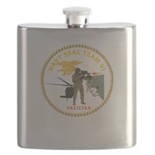 Navy - SOF - Seal Team VI in Pakistan Flask
