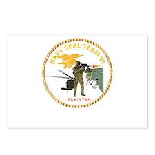 Navy - SOF - Seal Team VI in Pakistan Postcards (P