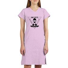 MUFF diving club logo shop Women's Nightshirt