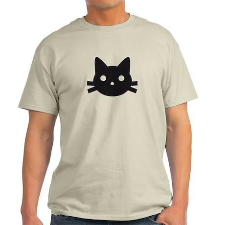 Black cat face design T-Shirt
